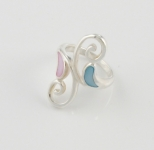 R129 Swirl ring with shell