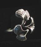 R141 Silver Flower design