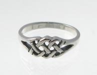 R236 Silver celtic ring