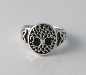 R163 Tree of life Ring