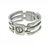 R166 Silver Ring