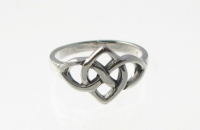 R228 Silver celtic ring