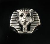 R191 Egyptian Head Ring