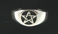R204 Pentagram Ring
