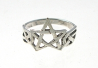 R205 Celtic Pentagram Ring