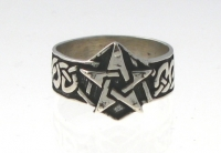 R210 Celtic Pentagram Ring