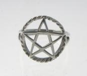 R216 Pentagram Ring