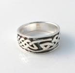 R217 Silver Celtic Ring