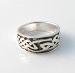 R217 Silver Celtic Ring