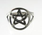 R219 Pentagram ring