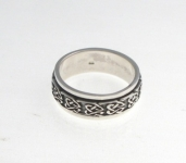 R252 Celtic Spinner Ring