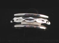 R256 Silver spinner ring