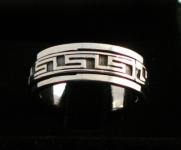 R270 Silver spinning ring