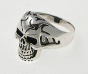 R295 Skull Ring