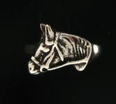 R48 silver horse head