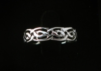 R59 Silver Celtic Ring