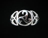 R77  Triskelion Celtic Ring