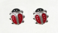 S10 Ladybirds (pack of 5 pairs)