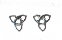 S130 Silver Celtic Studs (sold in packs of 5 pairs)