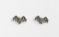 S15 Silver Bat Studs (pack of 5
