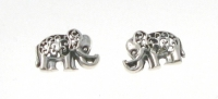 S169 Filigree Elephant Studs