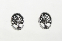 S42 Tree Studs (pack of 5 pairs)