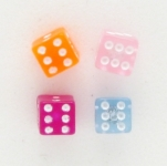 S44 Dice  (pack of 5 pairs)