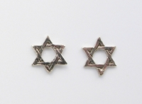 S5 Star of David  (pack of 5 pairs)