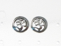 S60 Silver Ohm Studs (sold in packs of 5)