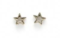 S67 Open star  (pack of 5 pairs)