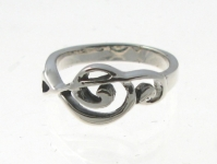 WR197 music note ring