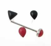 WS165 Small ear/nose studs