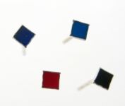 WS166 Small square earings