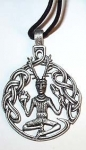 P50 Cernunnos pendant only suitable with thonging