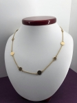 Gold chain with coin effect