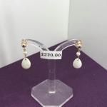 Opal Drop Earrings