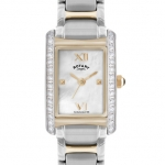 Rotary Ladies Two-tone Case Watch