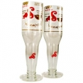 Recycled Beer/Wine Glasses - Sol (pair)