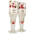 Recycled Beer/Wine Glasses - Sol (pair)