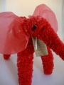 """Fair Trade """"Freedom"""" Elephant made from Recycled Plastic Bags"""