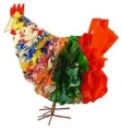 "Fair Trade ""Freedom"" Chicken made from Recycled Plastic Bags"
