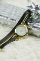 Gold and Black Hippie Chic Watch