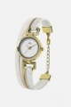 Gold and White Hippie Chic Watch