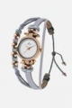 Grey and Gold Hippie Chic Watch