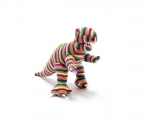 Knitted Dinasaur  Baby Rattle