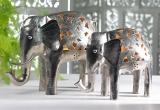 Large Nickel Elephant Tealight