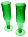 Recycled Beer/Wine Glasses - Carlsberg (pair)