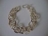Silver Bracelet - Circles