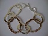 Silver Bracelet - Hoops