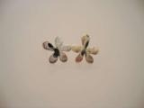 Silver Studs - Flower